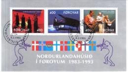 BIN542  FÄRÖER INSELN 1993  Michl  BLOCK 6 Used / Gestempelt - Färöer Inseln
