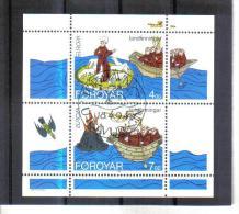 BIN545  FÄRÖER INSELN 1994  Michl  BLOCK 7 Used / Gestempelt - Färöer Inseln