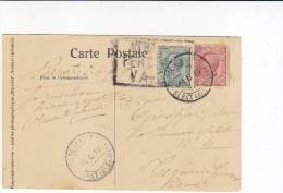 3-4067- Albania - Annullo Berat (Albania) Poste Italiane 4/6/19 + V.p.censura Valona Su Cartolina - Albania