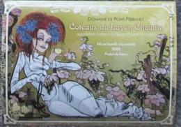 Etiquette Vin - Angers BD - Beuzelin - Livres, BD, Revues