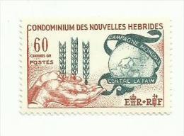 Nouvelles-Hébrides N°197 Neuf - Leyenda Francesa