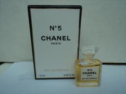 "CHANEL  : "" N° 5    "" MINI EDP  1,5 ML  LIRE ET VOIR !! - Modern Miniaturen (vanaf 1961)"
