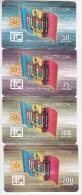 Moldova  - Chip  Phonecard  , 1997 , Set Total , Used - Telecom