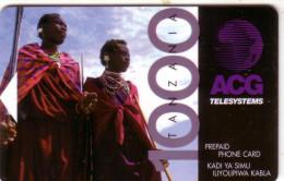 TANZANIE TANZANIA  ACG 1000U  ZOULOU MAGNETIQUE UT