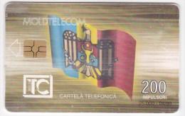 Moldova  - Chip  Phonecard  , Moldtelecom , 1999 , 200  UNITA , Used - Telecom Operators