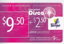 Moldova  , Tempo Disco , Prepaid , 9,5$  , Used - Telecom Operators