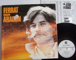 Jean FERRAT Chante ARAGON LP Disque Original TEMEY Un Jour Un Jour - New Age