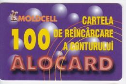 Moldova  , Moldcell , 2002 , Prepaid , 100 LEI , Plastic , Used - Telecom Operators