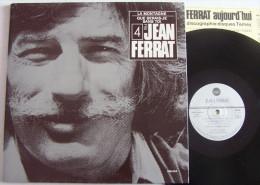 Jean FERRAT LP Disque Original TEMEY N° 4 + Livret La Montagne M / M - New Age