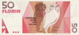 ARUBA P.  9 50 F 1990 UNC - Aruba (1986-...)