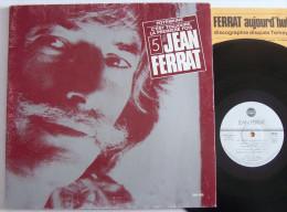 Jean FERRAT LP Disque Original TEMEY N° 5 + Livret Potemkine EX / EX - New Age