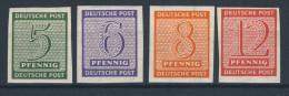 West Sachsen Michel No. 116 - 119 Y ** postfrisch