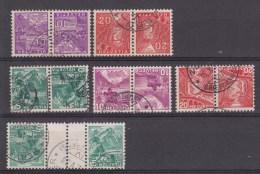 K29, K31, K32, K33, K34, KZ9, Michel = 70 € (X13982) - Zusammendrucke