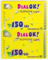 Moldova  , Liderfone , DIALOK , 2004 , Telephone Cards  , 150 Lei  ; Tip I + Tip II , Plastic , Used - Telecom Operators