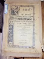 Partition Orgue Le Petit Harmoniste Grégorien Par A. ROUSSEAU Prêtre Du Sacré-Coeur Nouvelle édition, 1897 ♫&#9834 - Musique