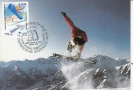 OLYMPISCHE SPIELE-OLYMPIC GAMES, ITALY, 2001, Special Cancellation !! - Winter 2006: Torino