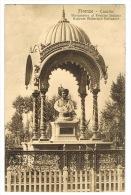 RB 1015 - 1925 Postcard - Firenze - Cascine  Monumento Al Principe Indiano Rajaram Mabarajak Kalnapoor - India Interest - Firenze