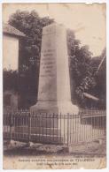 Sociéte Ouvrière Des Carrières De Villebois - Stèle Inaugurée Le 21 Août 1921 (liste Des Morts Commune De Briord Au Dos) - Autres Communes