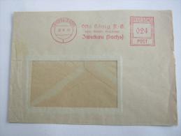1946 ,  ZWICKAU           ,  Firmen Freistempel Auf Beleg - Sowjetische Zone (SBZ)