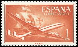 España 1172 ** Carabelas. 1955 - 1951-60 Nuevos & Fijasellos