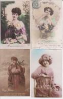 France, Femmes, Lot De 30 Cartes ( 15/lot 072) - Femmes