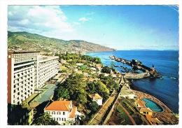 RB 1017 -  1973 Postcard - Funchal Madeira Portugal - Superb Savoy Hotel Meter Postmark - Madeira