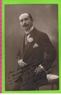M Hueyten�le 18 janvier 1919 autographe Th�atre Royal d�Anvers