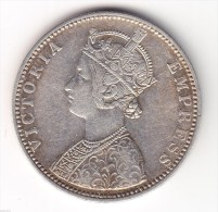 @Y@    BRITISH INDIA 1 Rupee 1891 (2634) - Inde