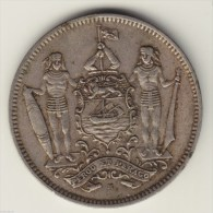@Y@   British North Borneo 5 Cent 1938 H Malaysia ( 2767) - Malaysia