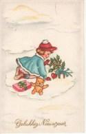 Gelukkig Nieuwjaar: Fillette, Ourson... - Nieuwjaar