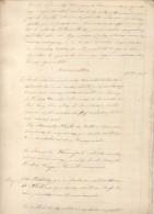 LIQUIDACION DE EXPENSAS DE HERENCIA PARA EL LIQUIDADOR DE DERECHOS REALES BAÑOS DE CUNTIS CIRCA 1860 PONTEVEDRA - Historische Documenten