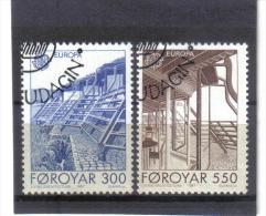 BIN657  FÄRÖER INSELN  1987  Michl  149/50   Used / Gestempelt - Färöer Inseln