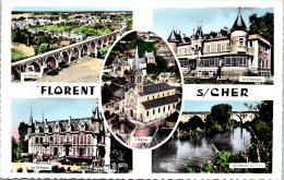 18 SAINT FLORENT SUR CHER - Carte Multivues - Saint-Florent-sur-Cher