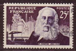 FRANCE - 1955 - YT  N° 1016  -oblitéré - Pierre Martin - France