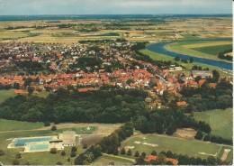 Stolzenau (Weber) Luftbild  1975 - Allemagne