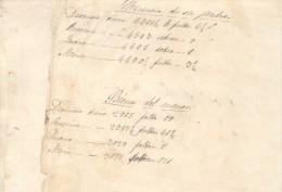 MEMORIAL DE LOS BIENES CAPITALES Y GANANCIALES SAN MARTIN DE LAJE O LAGE MORAÑA AÑOS 1870-1879 GALICIA ESPAÑA - Historische Dokumente