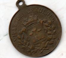 Fête Commémorative Du Centenaire De LHOMOND.20 Mai 1894.Ville De CHAULNES. - Autres