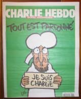 """Charlie Hebdo """"Tout Est Pardonné"""" - N° 1178 Du 14 Janvier 2015 - Neuf - Journaux - Quotidiens"""