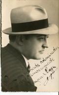 """AMAM NAYA ARTISTE ARTIST AUTOGRAPH AUTOGRAPHE CASA FOTO """"COLOMBO"""" BS.AS ARGENTINA VINTAGE 1930 RARISSIME VOYAGÉE GECKO - Autographes"""