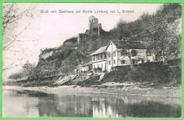Gruß Vom Gasthaus Zur Ruine Limburg Von L.Strobel - Sasbach