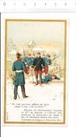 Chromo / Guerre De 1870 Cimetière De Loigny - Réponse Du Commandant Foucher /  Histoire De France //BIM 69/5 - Chocolate