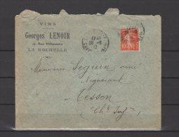 17 -  La Rochelle - Georges Lenoir - Vins - 1912 - 1877-1920: Semi-moderne Periode