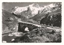 Cp, 05, Massif De La Meije, Et Pont Du Chazelet - France