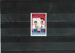 1980 - Expo Philatelique Rom-chinoise Yv No 3297 Et Mi No 3744 - 1948-.... Republiken