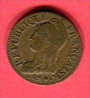 CINQ CENTIMES  AN 8 BB  TB+  35 - 1789-1795 Period: Revolution