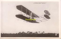 CPA L'AEROPLANE WRIGHT MARQUE ETOILE - ....-1914: Précurseurs