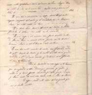 PUENTE DE NEYRA AL SUR DE LUGO GALICIA DOCUMENTO AÑO 1808 EN 4 FOJAS CUPO Y MONTO PARTIJA DE HERENCIA - Documenti Storici