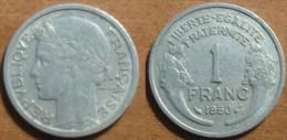 1950 - France - 1 FRANC, Morlon, Aluminium - France