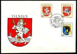 Litauen  - FDC  -  Mi.Nr.   505 - 507     - Gestempelt - Litauen