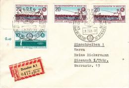 SONSTIGER SPORT-MISCELLANEOUS SPORTS, GDR/DDR, 1961, Special Postmark !! - Autres